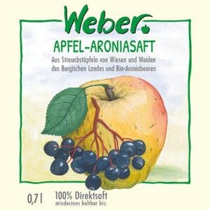 Apfel-Aroniasaft