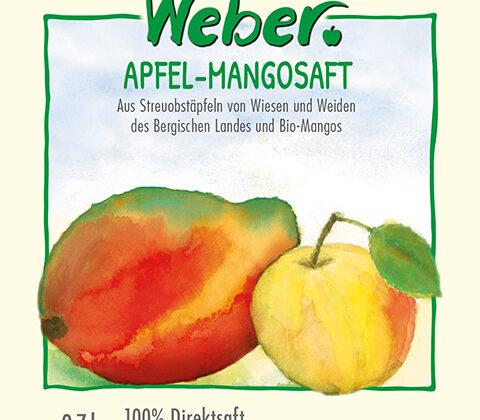 Apfel-Mangosaft